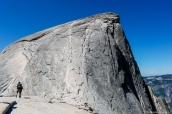 Half Dome avant la montée finale pour se rendre à son sommet, Yosemite National Park