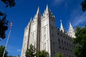 Temple mormon de Salt Lake City, Utah