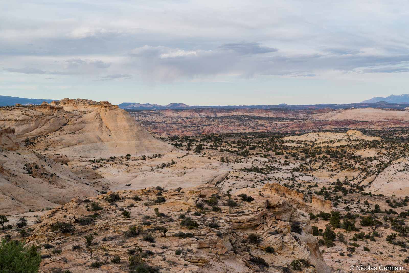 Paysage de la route UT12 dans le nord de Grand Staircase-Escalante National Monument