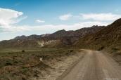 Paysage semi-aride le long de la piste Cottonwood Road dans Grand Staircase Escalante National Monument, Utah
