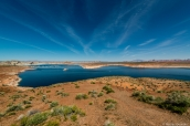 Wahweap Overlook, dans la partie Arizona du Lac Powell