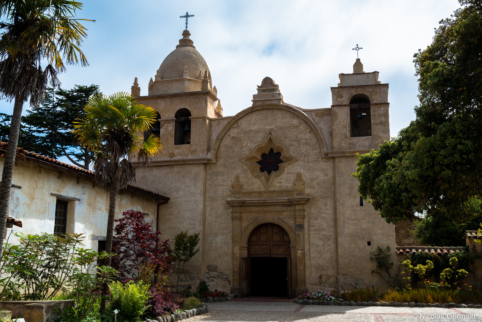 Mission San Carlos Borromeo à Carmel, Californie
