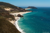 Paysage de la côte pacifique à Point Sur, au sud de Monterey, Californie