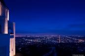 Gigantisme de Los Angeles et ses lumières de nuit, vue de Griffith Observatory