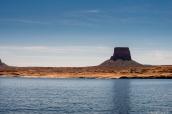 Tower Butte, au bord du Lac Powell, Arizona