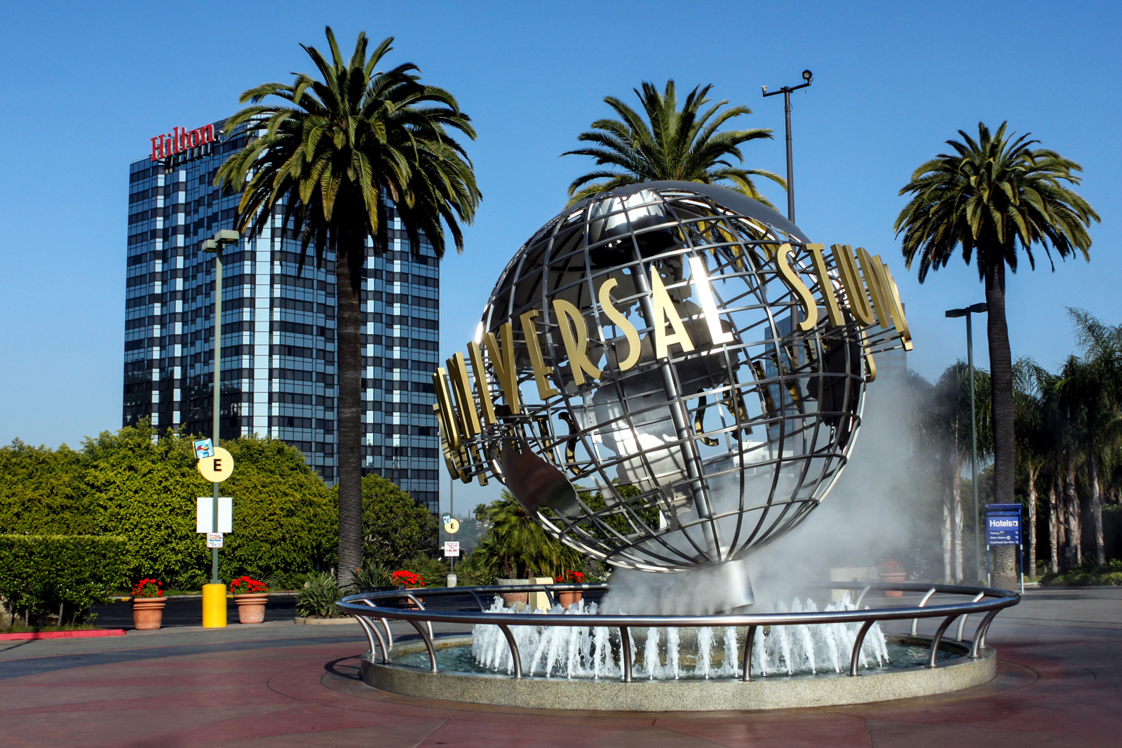 Entrée des Studios Universal d'Hollywood, Los Angeles