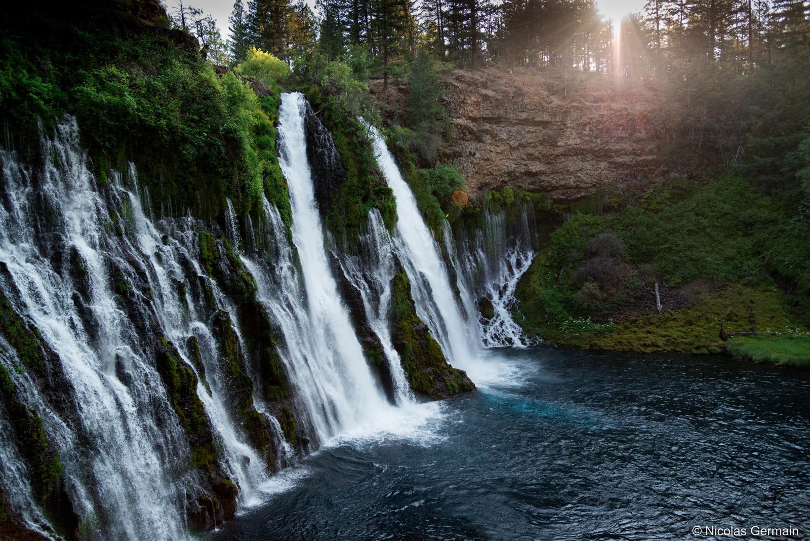 Chutes d'eau de Burney Falls, Californie