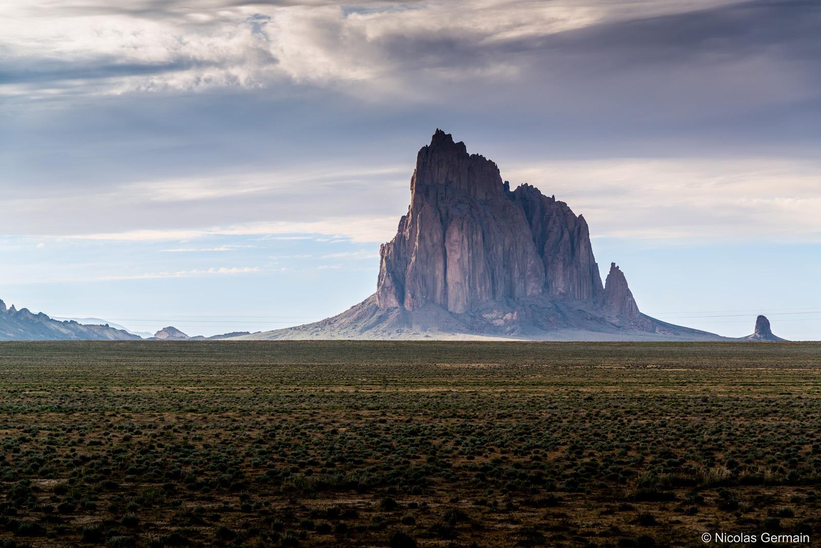 Shiprock, dans le nord-ouest du Nouveau-Mexique