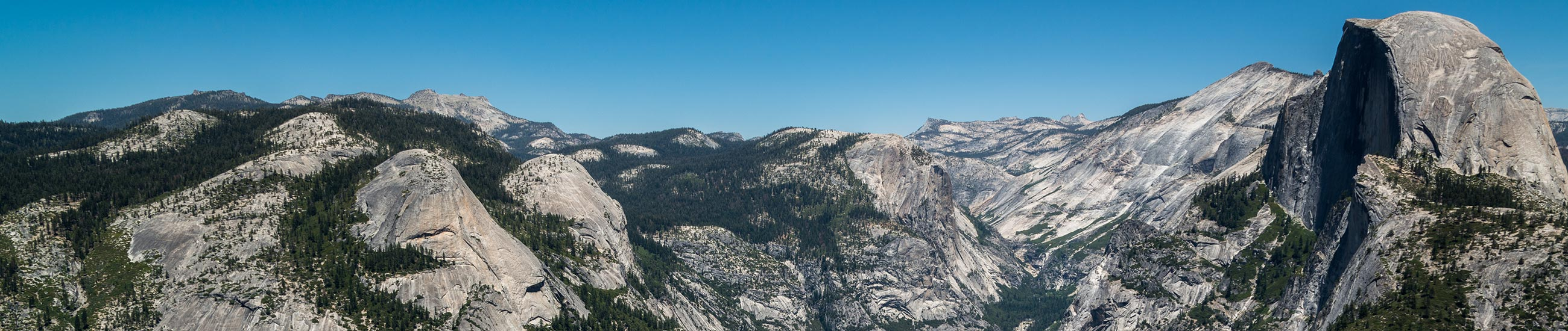 Yosemite Valley et Half Dome