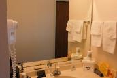 Salle de bain d'une chambre du Days Inn de Torrey