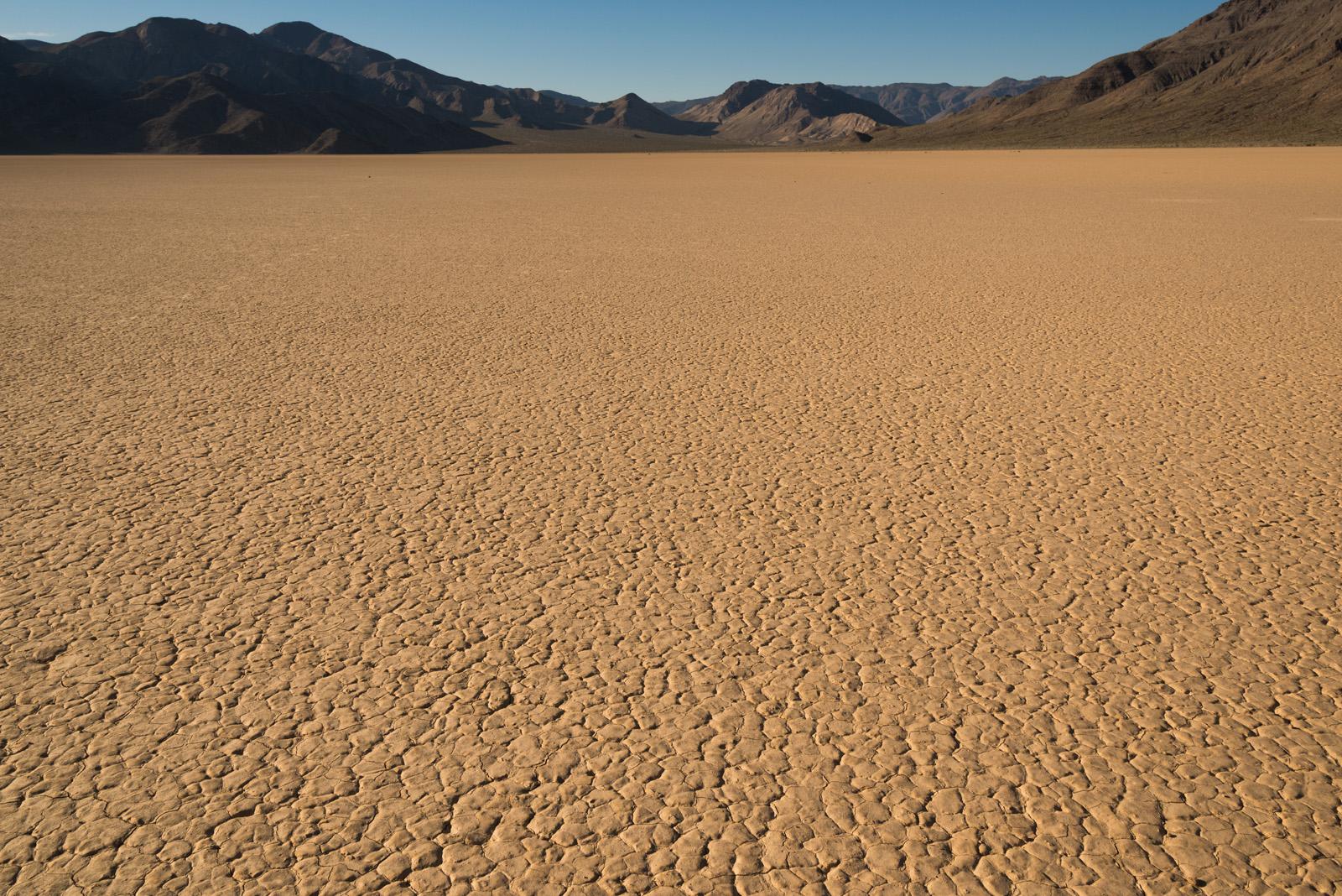 Sécheresse visible au sol dans l'Ouest américain
