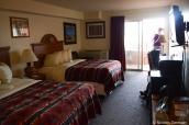 Intérieur d'une chambre de The View Hotel, Monument Valley