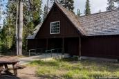 L'un des blocs de chambres de Cabins at Mazama Village, Crater Lake