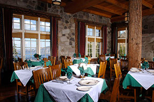 Crater Lake Lodge Dining Room