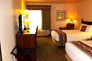 Une chambre du Hualapai Lodge à Peach Springs, Arizona