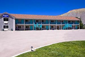 Rodeway Inn de Caineville, à l'est de Capitol Reef
