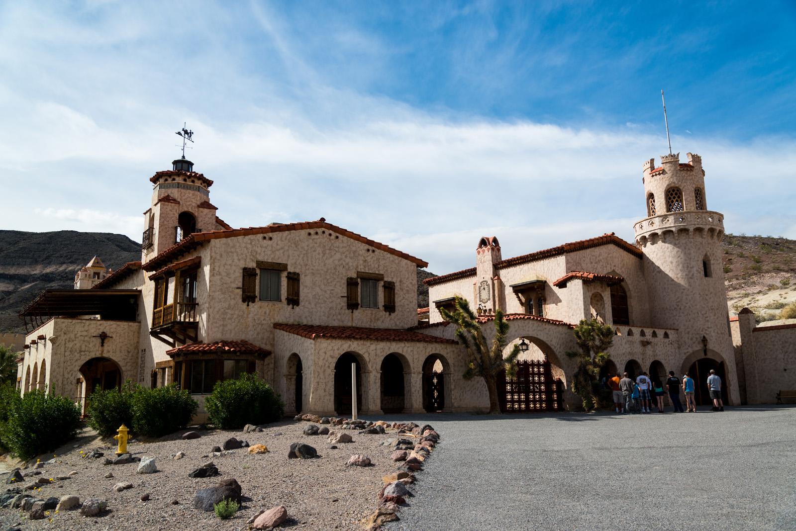 Scotty's Castle dans le secteur nord-est de la Vallée de la Mort, Californie