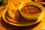 Une soupe du restaurant Olde Bridge Bar & Grill du San Juan Inn