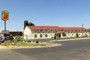 Vue extérieure du motel Super 8 à Vernal