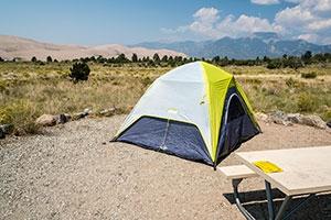 Piñon Flats Campground Great Sand Dunes