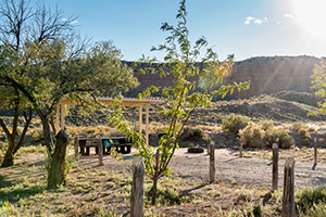 Cathedral Gorge Campground