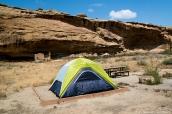Emplacement numéro 26 au Gallo campground de Chaco Culture, Nouveau-Mexique
