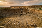 Casa Rinconada, la plus grande kiva de Chaco Canyon, Chaco Culture