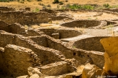 Kivas et chambres de Pueblo Bonito, Chaco Culture
