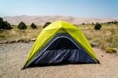 Emplacement numéro 69 du camping de Piñon Flats dans Great Sand Dunes, Colorado