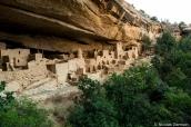 Cliff Palace, plus grand ensemble de ruines indiennes de Mesa Verde National Park, Colorado