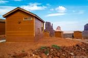 Premium cabins, petits chalets avec vue imprenable sur les buttes de Monuent Valley
