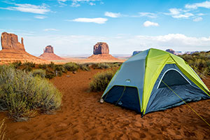 Camping de Monument Valley