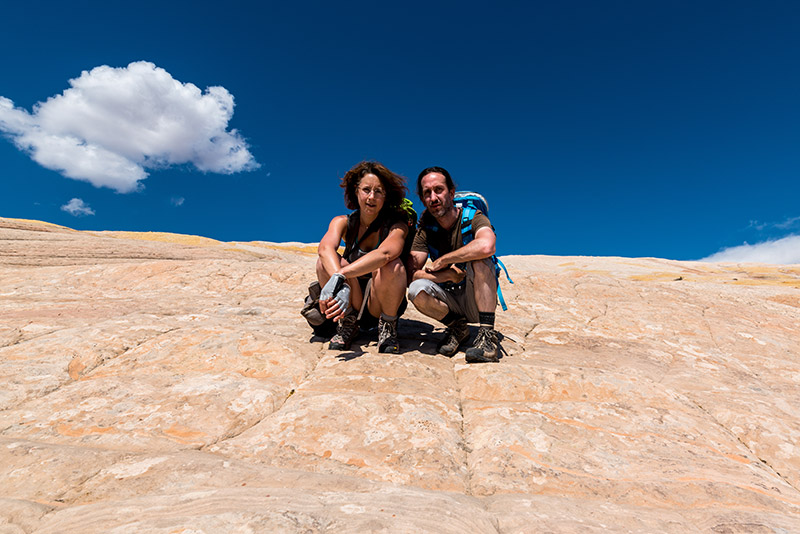 Sur les pentes de Yellow Rock, Grand Staircase-Escalante