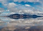 Paysage de Bonneville Salt Flats