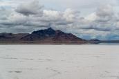 Etendue de sel à Bonneville Salt Flats, Utah