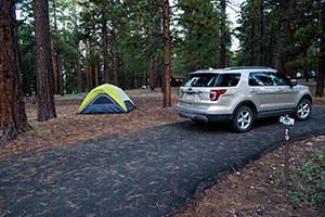 Camping de Grand Canyon North Rim
