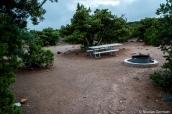 L'un des six emplacements de Cathedral Valley Primitive Campsite, Capitol Reef