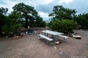 Emplacement du Primitive Campsite le plus proche de la vue sur Cathedral Valley, Capitol Reef