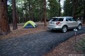 Emplacement 29 du camping de la rive nord de Grand Canyon National Park, Arizona