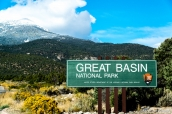 Entrée du parc national de Great Basin, Nevada