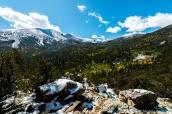 Pic Wheeler vu de Mather Overlook, Great Basin National Park