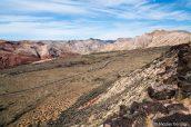 Vue sur la partie nord à partir de Snow Canyon Overlook, Utah