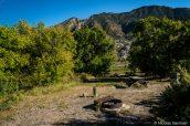 Emplacements de Rainbow Park Campground, Dinosaur
