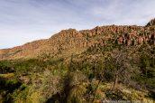 Paysage vu de Sarah Deming Trail, Chiricahua