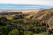 Panorama en haut de Sugarloaf, Chiricahua