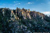 Colonnes rocheuses à flanc de colline, Chiricahua National Monument