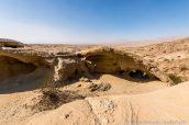 Cavités rocheuses et badlands à Wind Caves, Anza Borrego