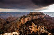 Vue du Grand Canyon à Cape Royal, sur la rive Nord