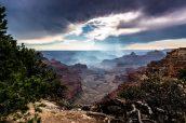 Vue sur le Grand Canyon à Cape Royal, North Rim
