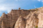 Rocher en équilibre le long de Cave Loop Trail, Kasha Katuwe Tent Rocks